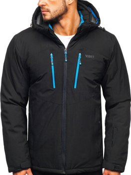 Men's Ski Jacket Black Bolf BK193