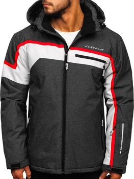 Men's Ski Jacket Graphite Bolf 1339