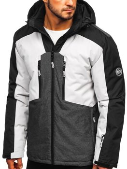 Men's Ski Jacket Grey Bolf 1340