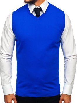 Men's Sleeveless Jumper Blue Bolf 2500