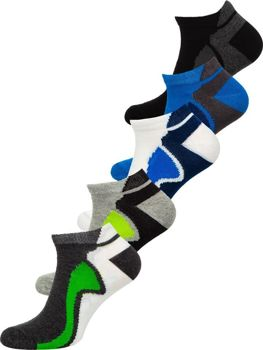 Men's Socks Multicolor Bolf X10049-5P 5 PACK