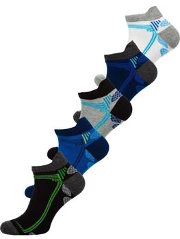 Men's Socks Multicolor Bolf X10054-5P 5 PACK