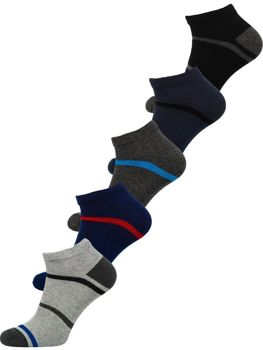 Men's Socks Multicolor Bolf X10082-5P 5 PACK