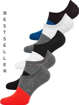 Men's Socks Multicolor Bolf X10168-5P 5 PACK