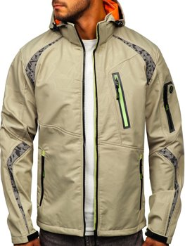 Men's Softshell Jacket Beige Bolf 2251