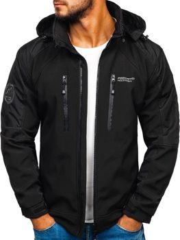 Men's Softshell Jacket Black Bolf P06