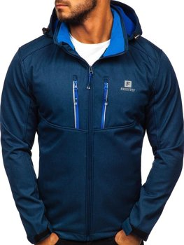 Men's Softshell Jacket Navy Bolf AB008