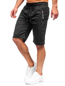 Men's Sweat Shorts Black Bolf JX503