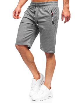 Men's Sweat Shorts Graphite Bolf JX503