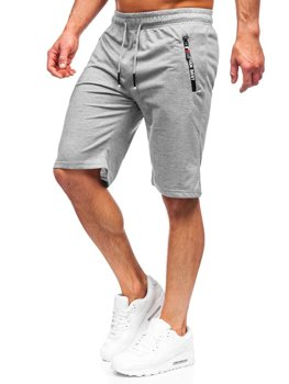 Men's Sweat Shorts Grey Bolf JX503