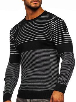 Men's Sweater Black Bolf 1014