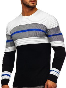 Men's Sweater Black Bolf 1058