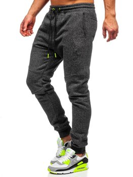 Men's Sweatpants Anthracite-Celadon Bolf Q3778