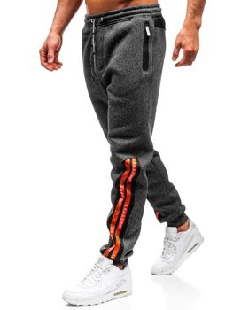 Men's Sweatpants Black-White Bolf Q3869