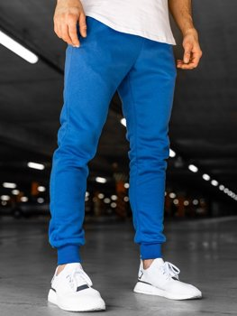 Men's Sweatpants Blue Bolf XW01