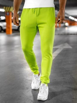 Men's Sweatpants Green-Neon Bolf XW01