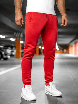 Men's Sweatpants Light Red Bolf XW01