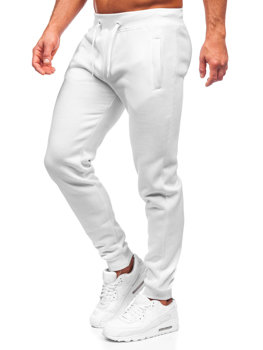 Men's Sweatpants White Bolf XW01-A