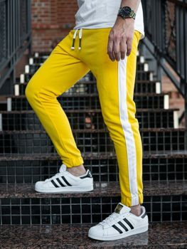 Men's Sweatpants Yellow Bolf 11120