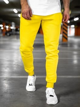 Men's Sweatpants Yellow Bolf XW01