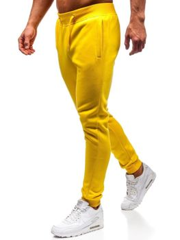 Men's Sweatpants Yellow Bolf XW01-A