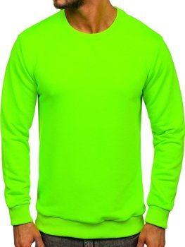 Men's Sweatshirt Green-Neon Bolf 171715