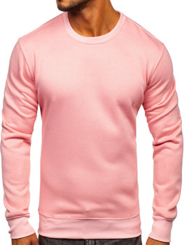 Men's Sweatshirt Light Pink Bolf 2001