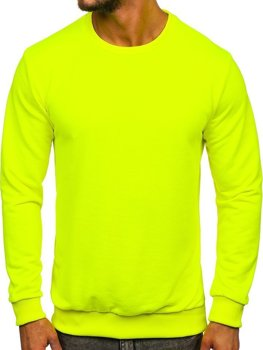 Men's Sweatshirt Yellow-Neon Bolf 171715