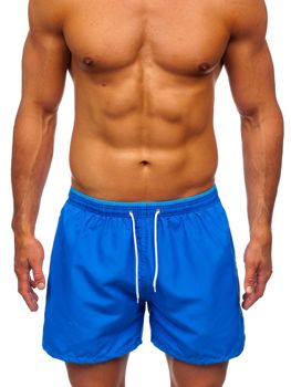 Men's Swimming Trunks Blue Bolf 303