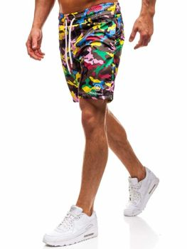 Men's Swimming Trunks Multicolour Bolf K1950B