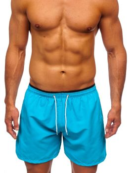 Men's Swimming Trunks Sky Blue Bolf 303