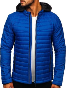 Men's Transitional Down Jacket Blue Bolf AB031