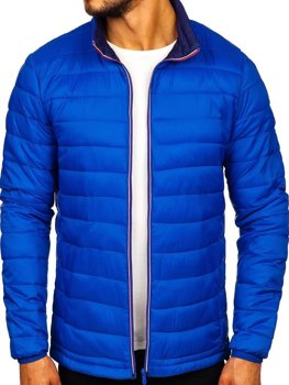 Men's Transitional Down Jacket Blue Bolf LY1017