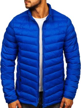 Men's Transitional Down Jacket Blue Bolf SM70