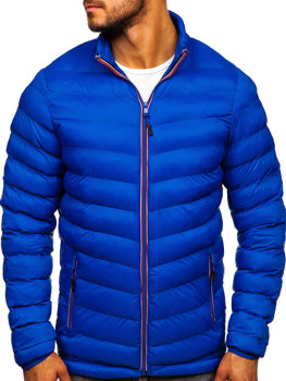 Men's Transitional Down Jacket Blue Bolf SM71