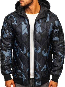 Men's Transitional Down Jacket Camo-Graphite Bolf MY21M