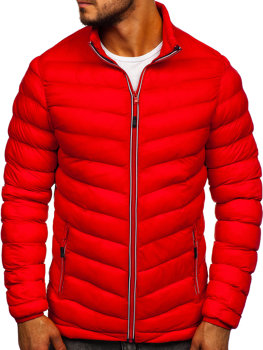 Men's Transitional Down Jacket Red Bolf SM71