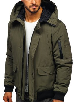 Men's Transitional Jacket Green Bolf 2019005