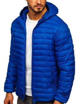 Men's Transitional Quilted Jacket Blue Bolf LY35