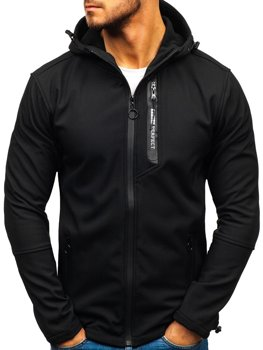 Men's Transitional Softshell Jacket Black Bolf 5480-A