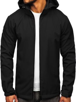 Men's Transitional Softshell Jacket Black Bolf 56008