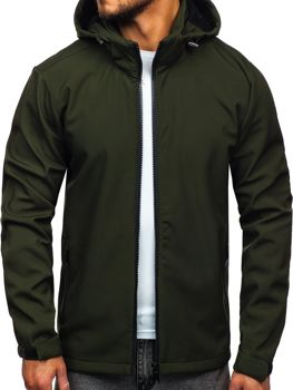 Men's Transitional Softshell Jacket Green Bolf 56008