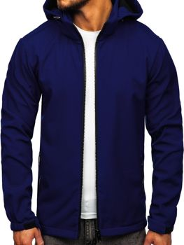 Men's Transitional Softshell Jacket Navy Blue Bolf 56008