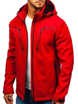 Men's Transitional Softshell Jacket Red Bolf 5427