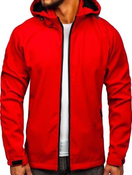 Men's Transitional Softshell Jacket Red Bolf 56008
