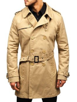 Men's Trench Coat Beige Bolf 5710