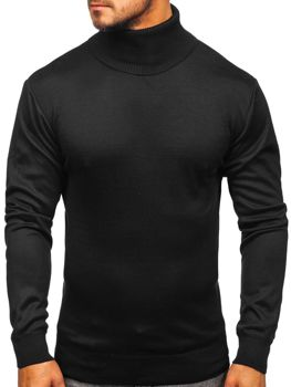 Men's Turtleneck Jumper Black Bolf GF14