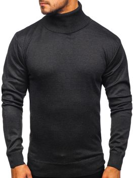 Men's Turtleneck Jumper Graphite Bolf GF14
