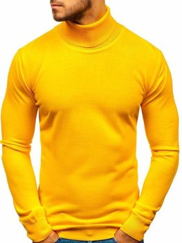 Men's Turtleneck Jumper Yellow Bolf 2400