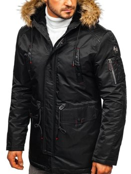 Men's Winter Jacket Black Bolf 1080